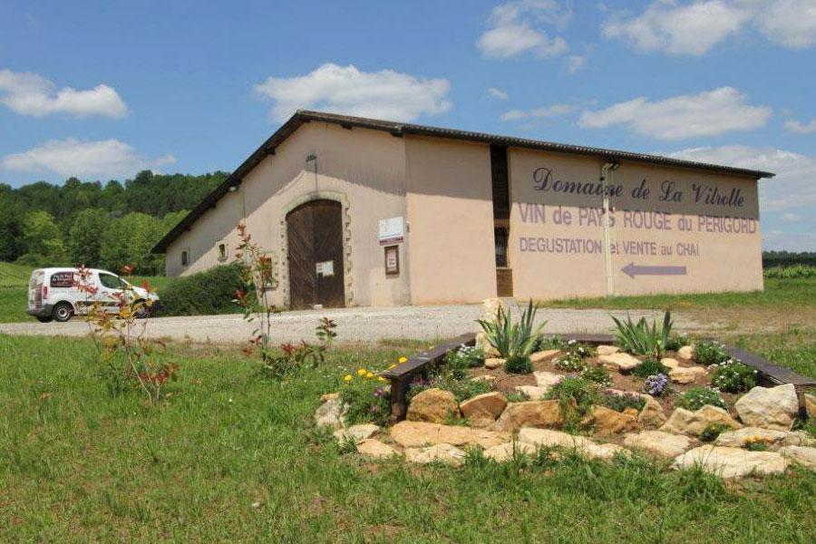 Chai Domaine de la Vitrolle vin de pays du Périgord