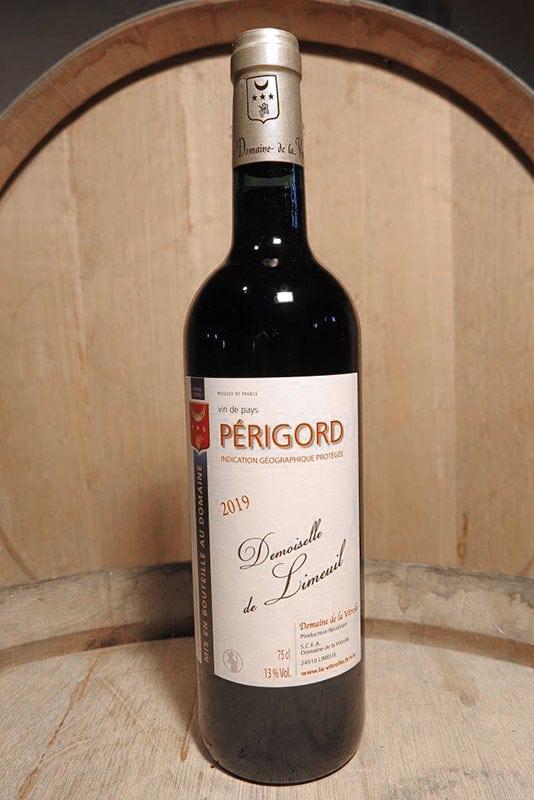 Demoiselle de Limeuil : vin de pays rouge du Périgord