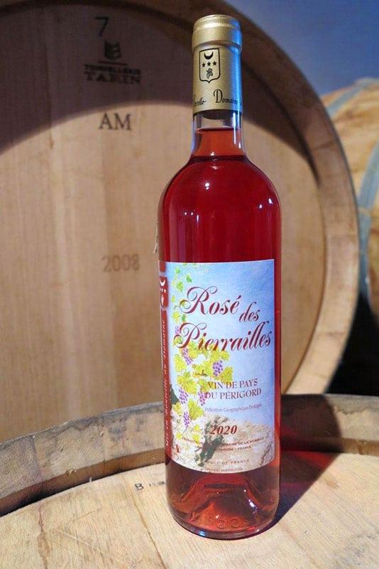 Rosé des Pierrailles : vin de pays rosé du Périgord